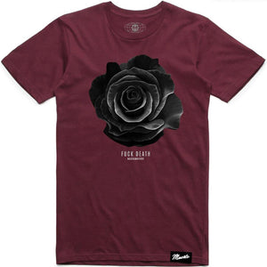 F Death Rose Tee (Burgundy)