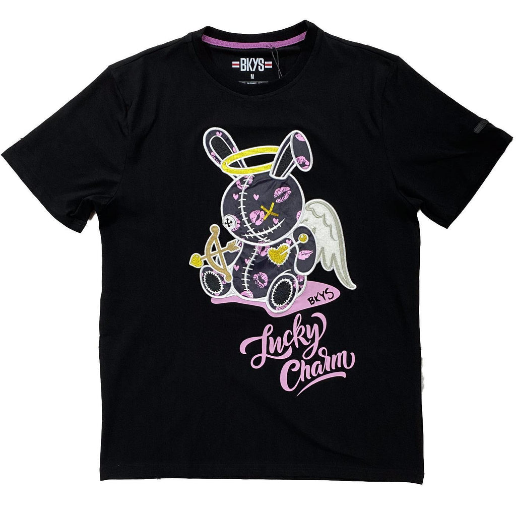 Lucky Angel Tee (Black) | BKYS
