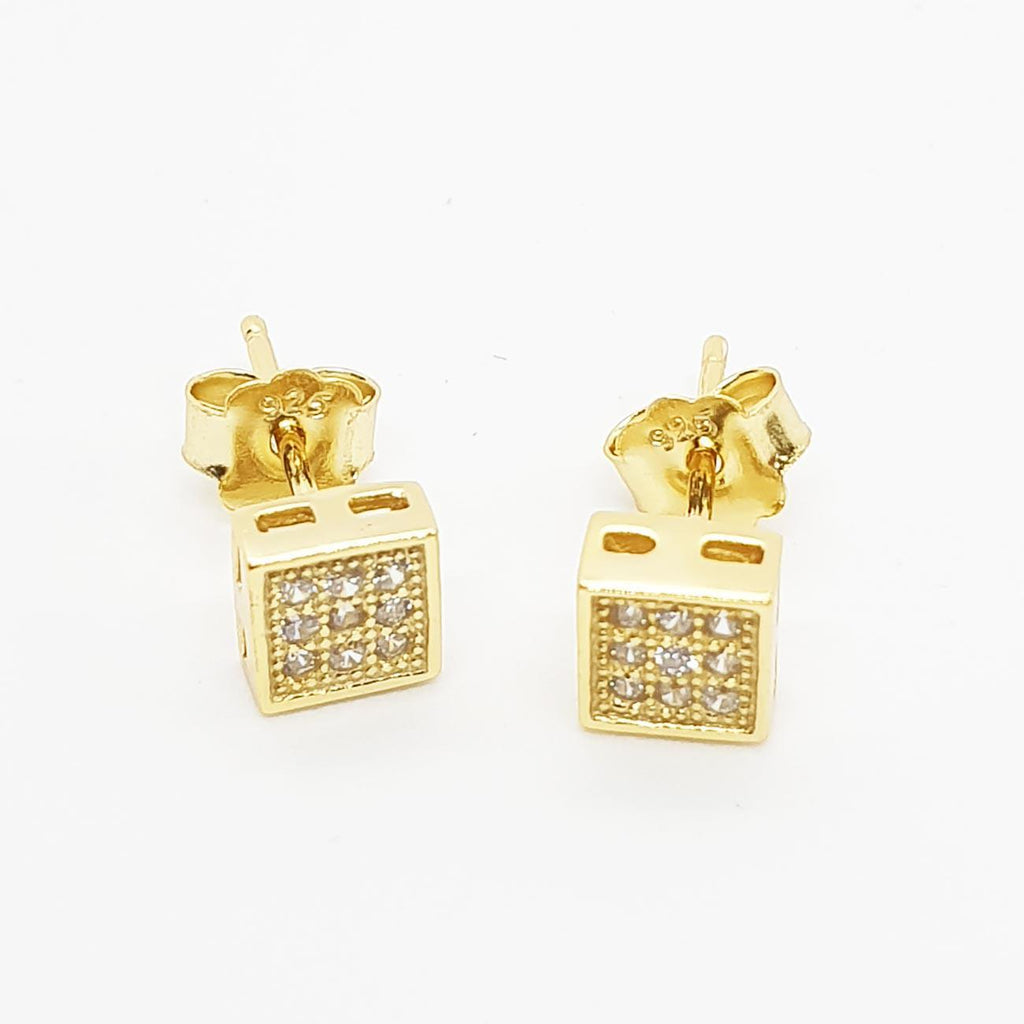 Bijou Square Trend Earring | Urban Street Wear