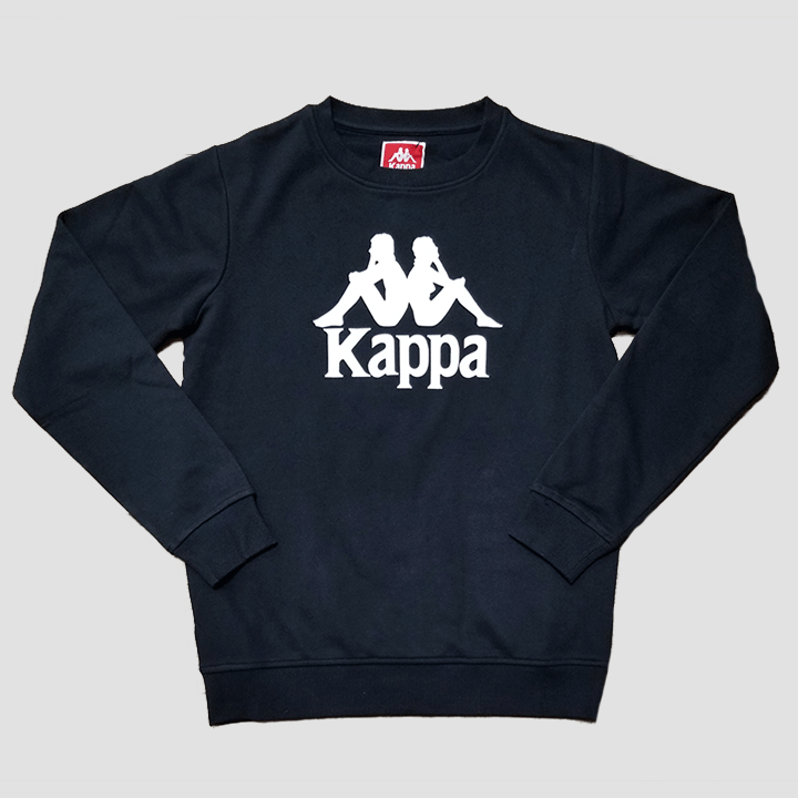 Kappa Authentic Eslogari Crew Neck Shirt (Black)