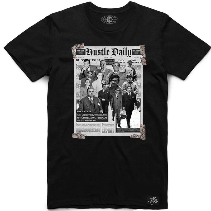 HZC Newspaper Tee (Black)