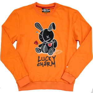 Lucky Charm Crewneck (Orange)