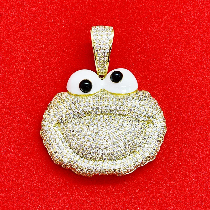 Elmo Pendant (Gold) | USW Urban Street Wear