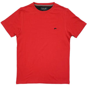 Evan Plain T-Shirt (Red) | A. Tiziano