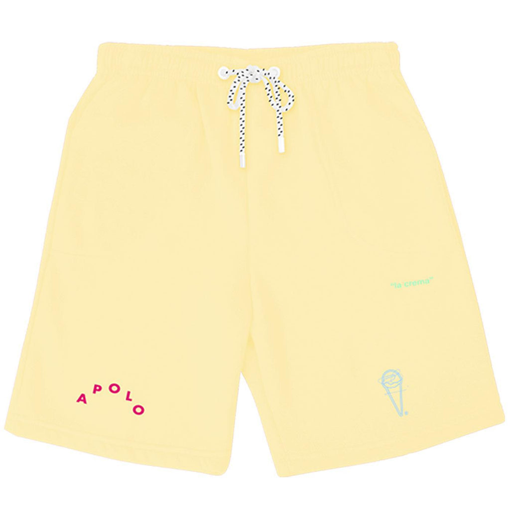 La Crema Shorts (Yellow) | Apolo Apparel