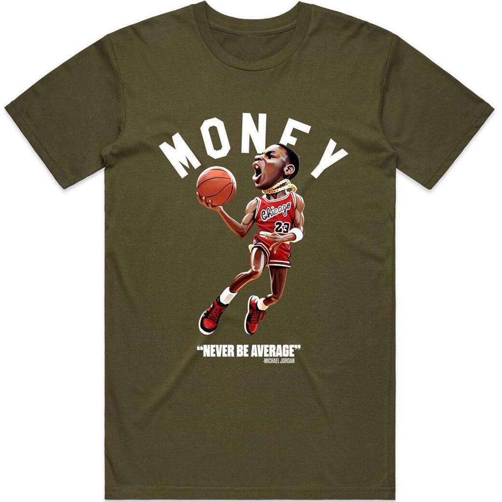 Money Jump Tee (Army) | Streetwear Official