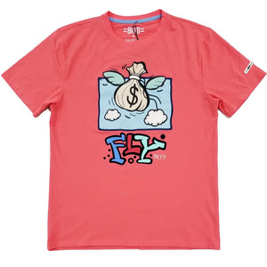 Fly Tee (Coral) | BKYS Black Keys