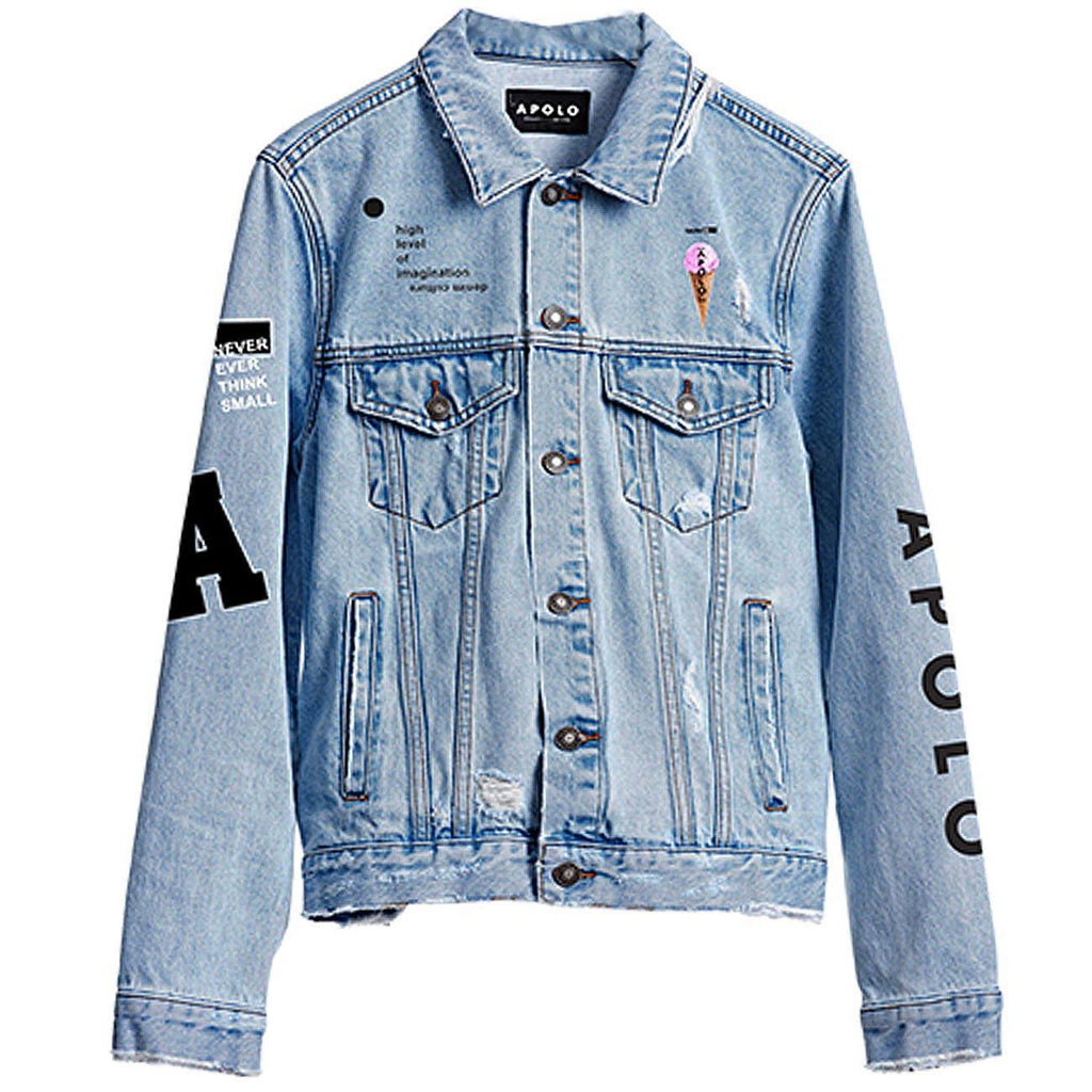 Apolo Embroidery Denim Jacket | Apolo Apparel