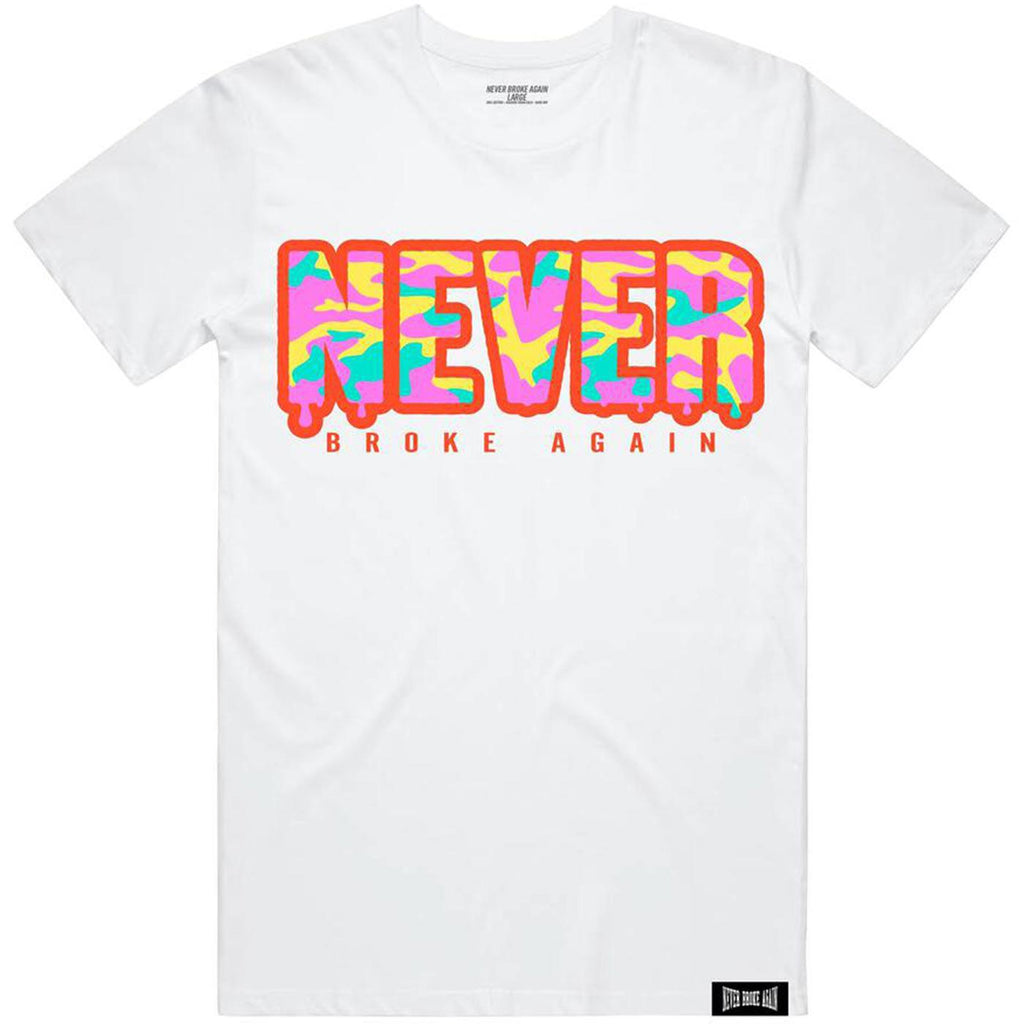 Never Camo T-Shirt (White)