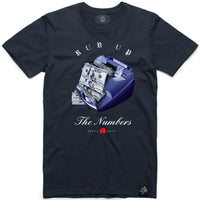 AJ12IND Run Up Tee (Navy)