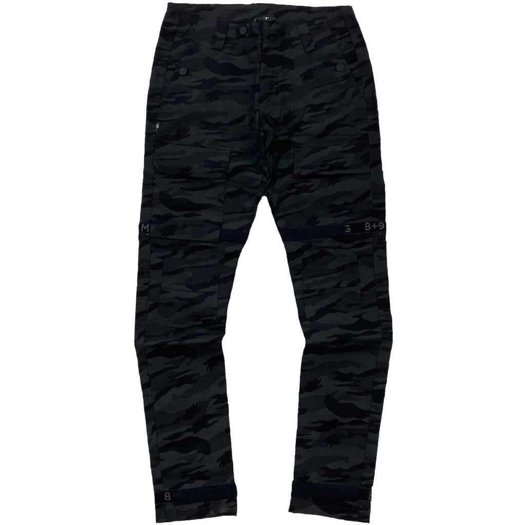 Strapped Up Slim Utility Pants (Camo) | 8 & 9 Clothing
