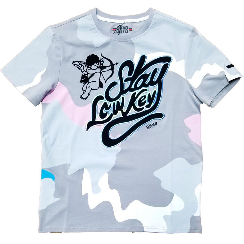 Stay Low Tee (Silver)