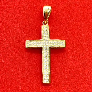 Bust Cross Necklace (Gold) | USW Urban Street Wear