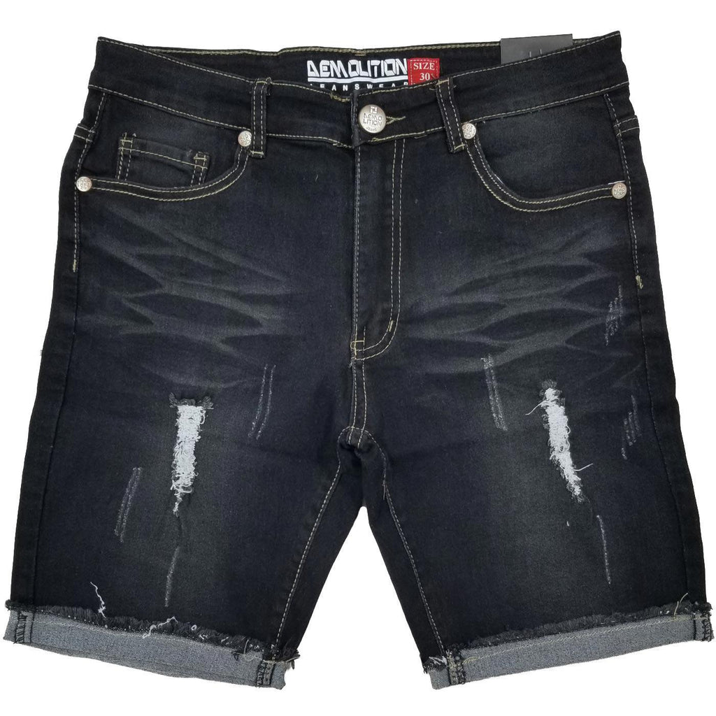 Demo Wash Jean Shorts