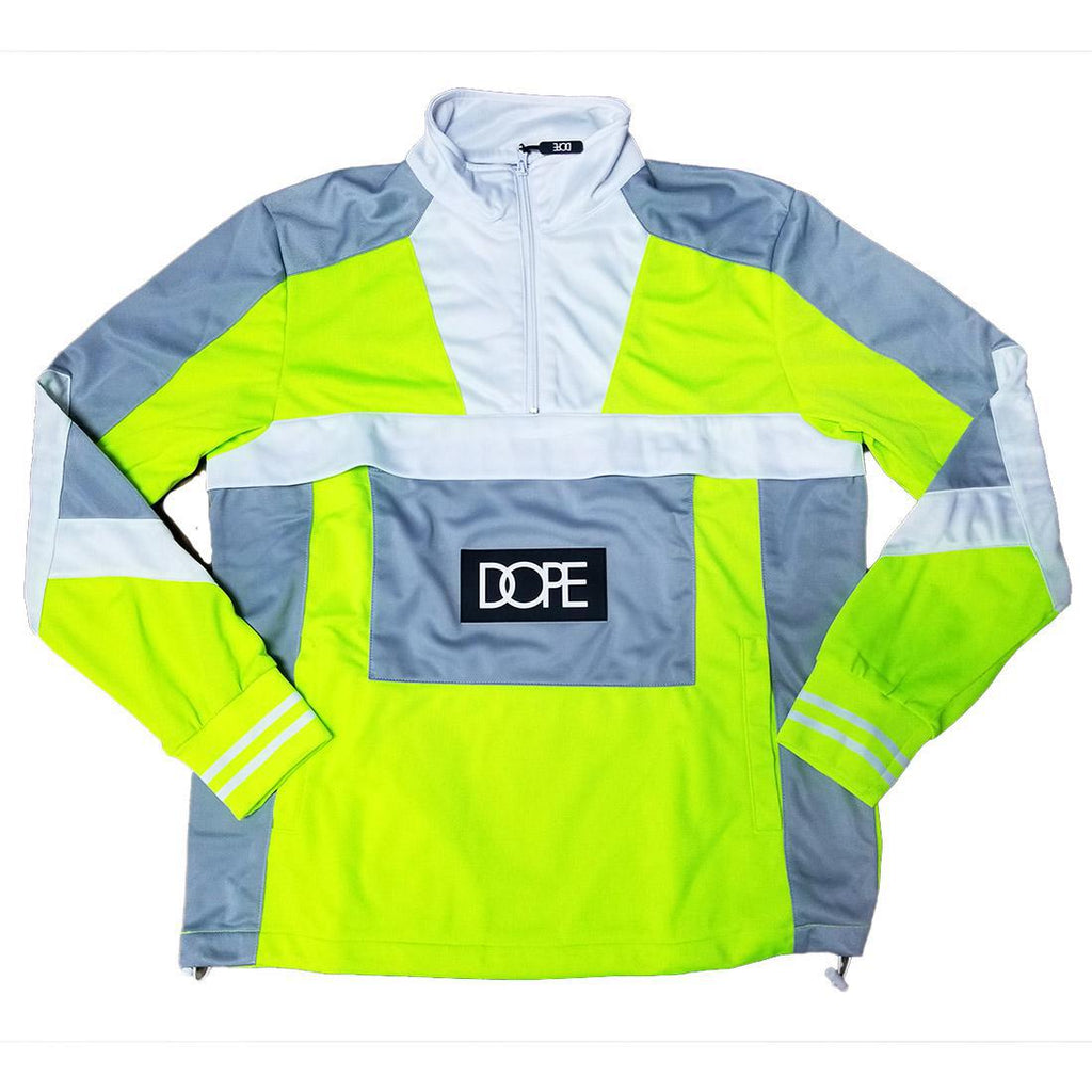 DOPE Sprinter Pullover Jacket (Safety Green)