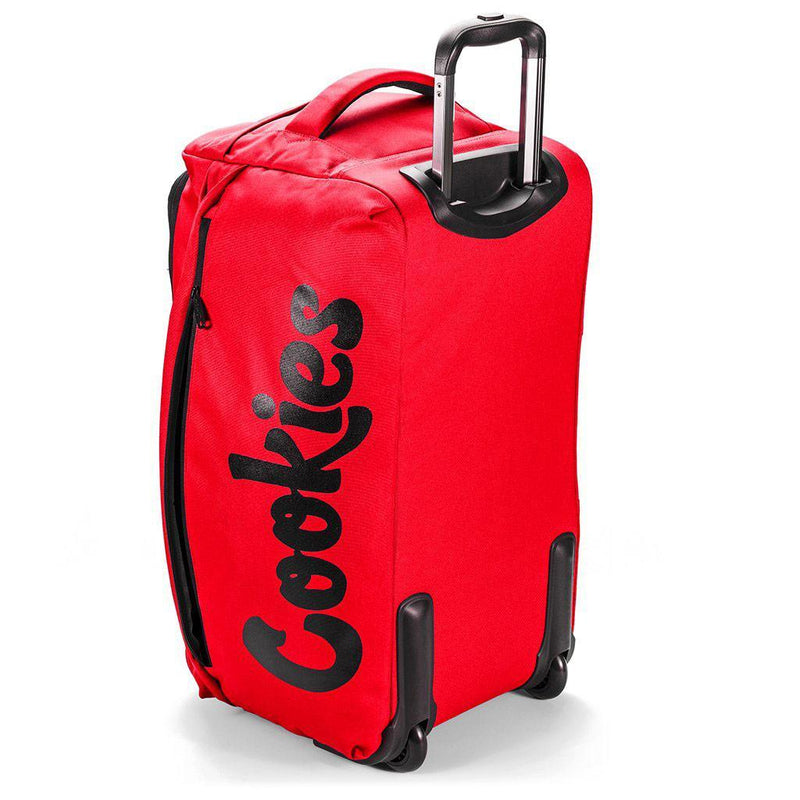 Trek Roller Smell Proof Travel Bag (Red) Rear | Cookies Clothing