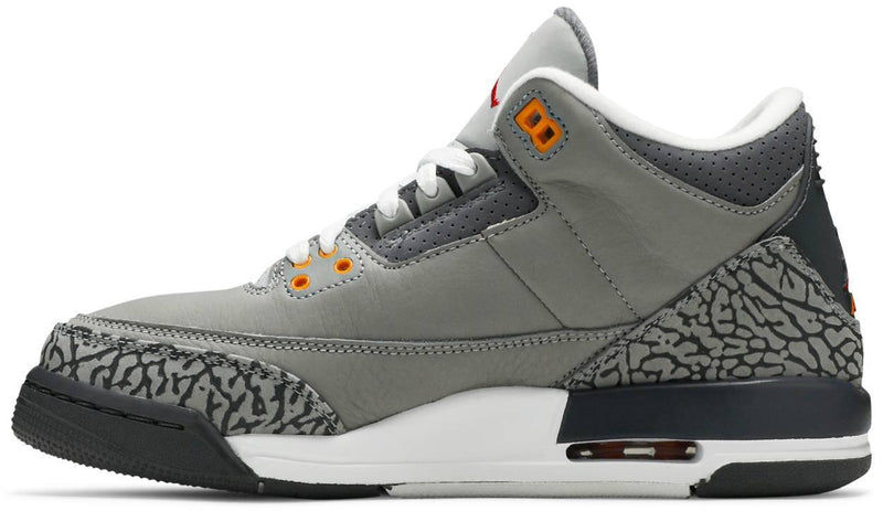 Air Jordan 3 Retro GS 'Cool Grey' 2021 398614 012 Side | USW