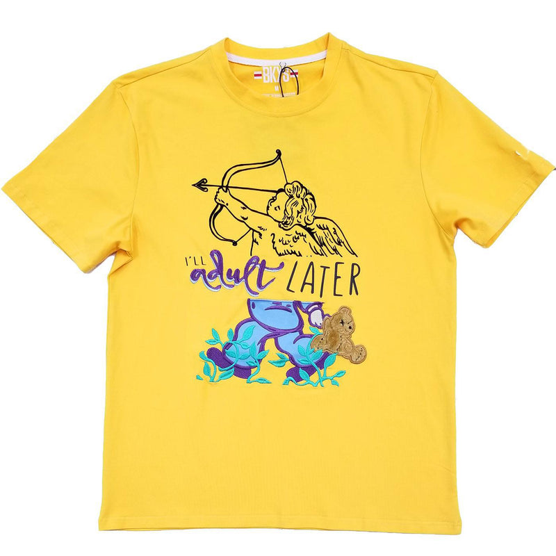 Adult Later Tee (Gold)