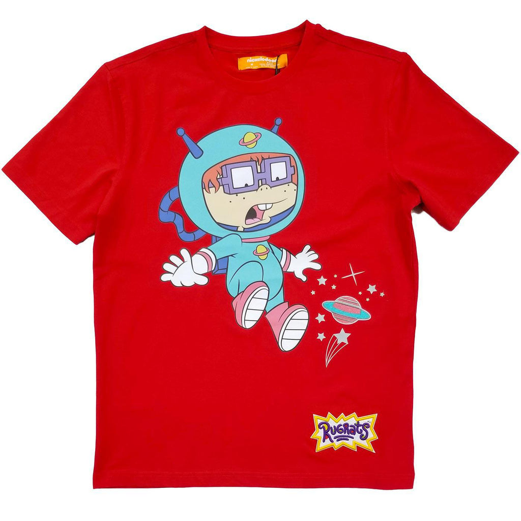 Chuckie Space Drop Tee (Red) | Freeze Max