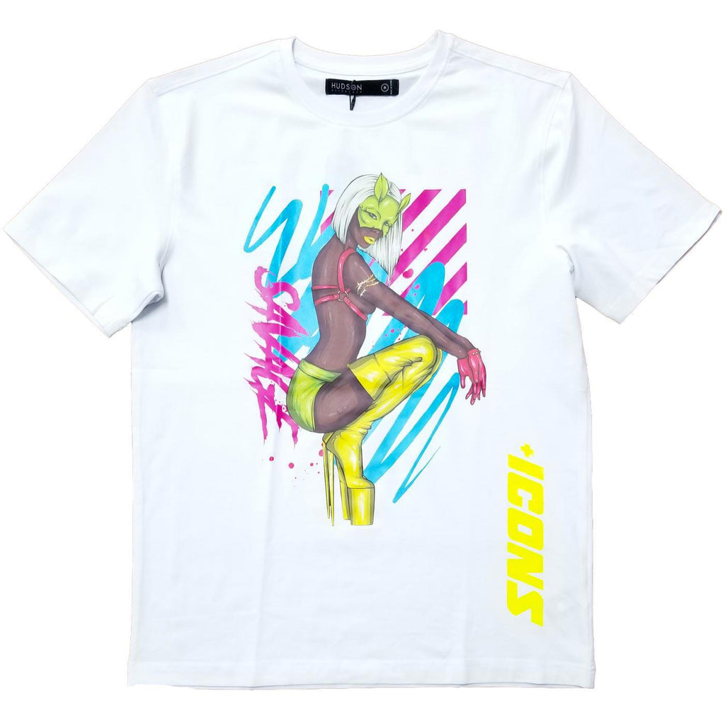 Masked Girl Tee (White)