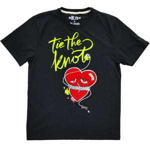 Tie The Knot Tee (Black)