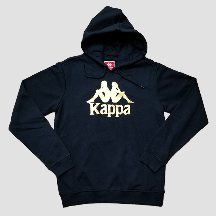 Kappa Authentic Esmio Pullover Hoodie (Black)