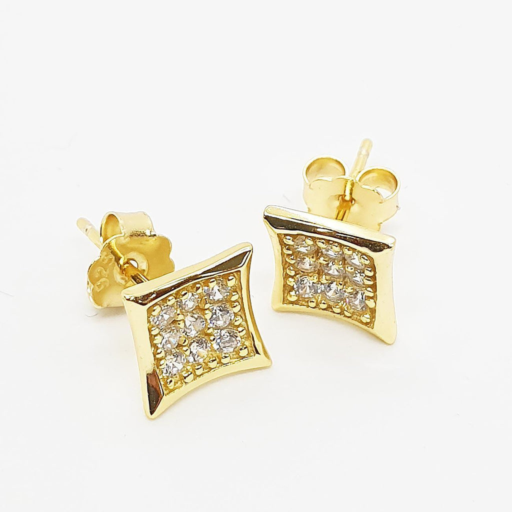 Modern Small Concave Earrings (Medium) | Urban Street Wear