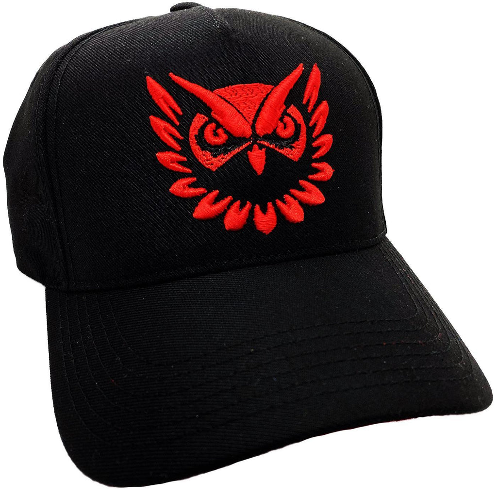 Owl Vision Hat (Black/Red)