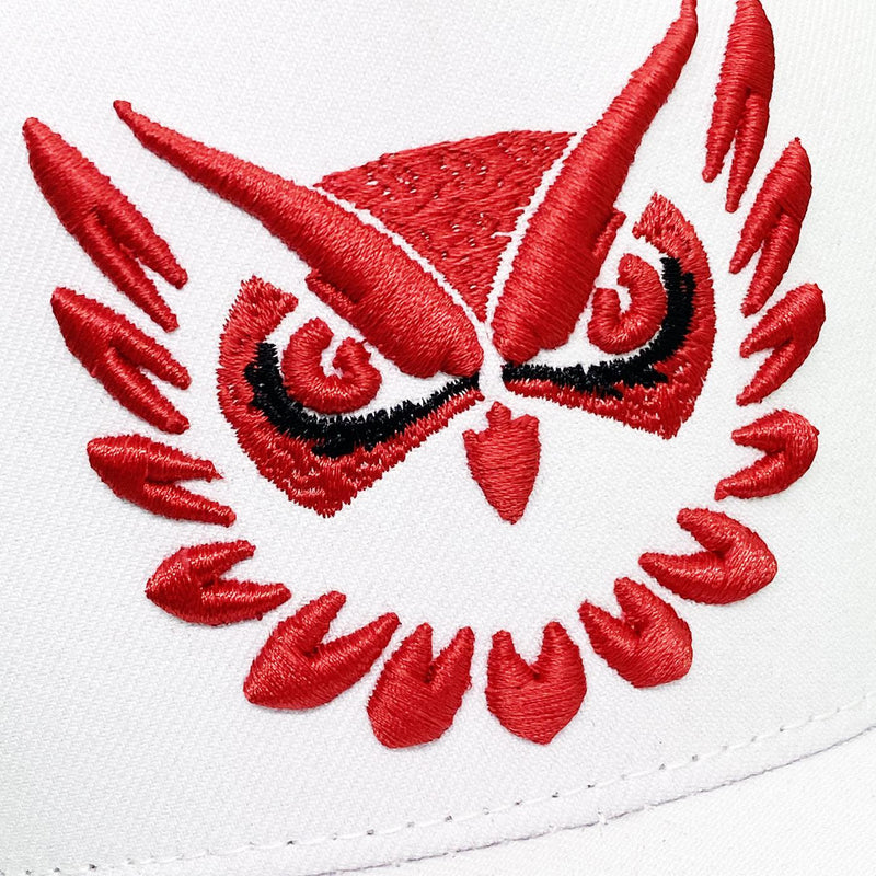 Owl Vision Hat (White/Red)