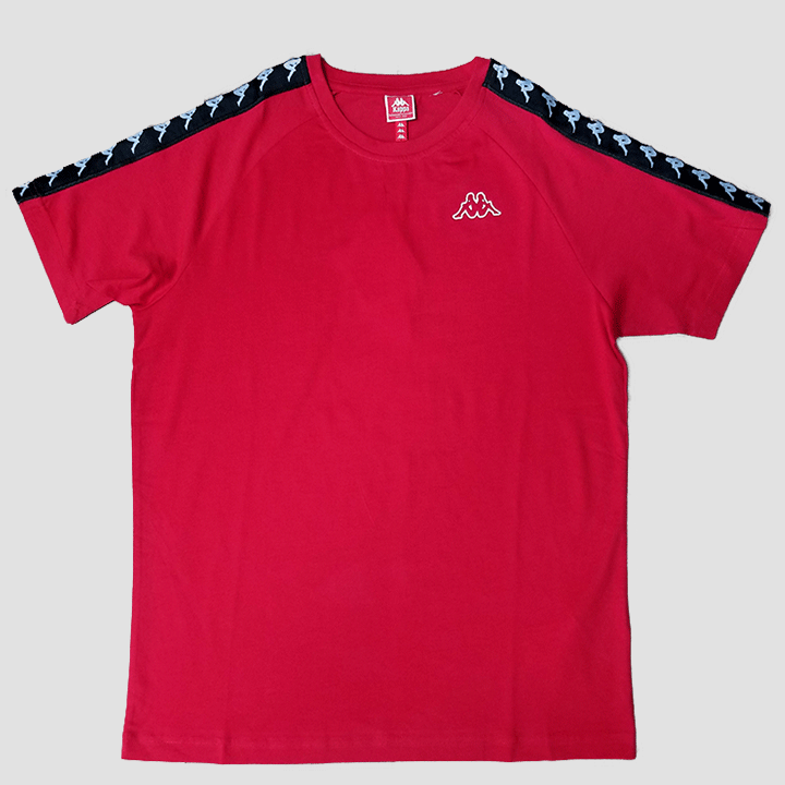 Kappa 222 Banda Coen Slim Red Shirt
