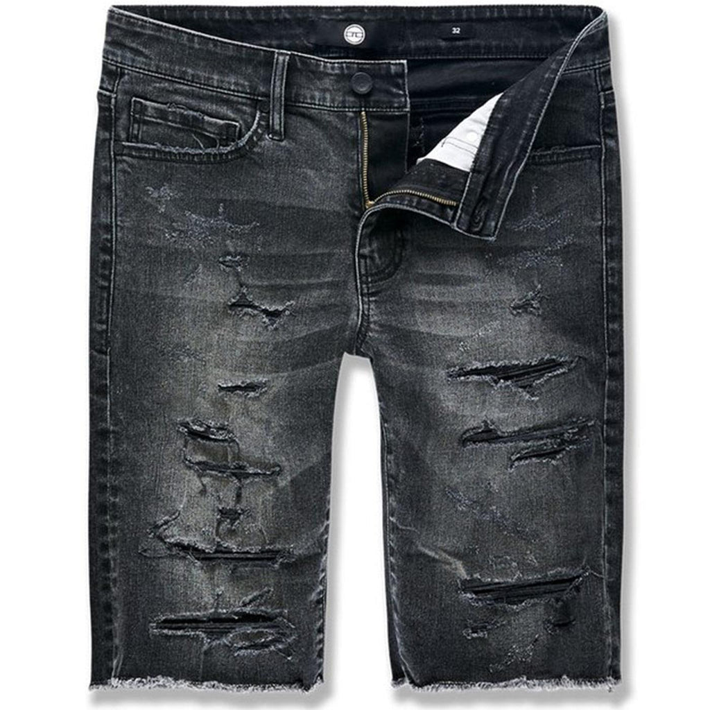 Abyss Denim Shorts (Black Shadow) | Jordan Craig