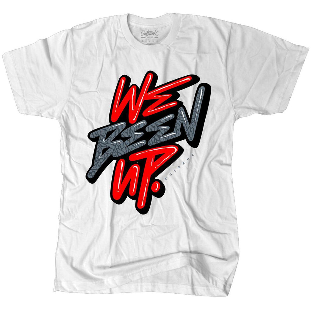 We Been Up Tee (White)