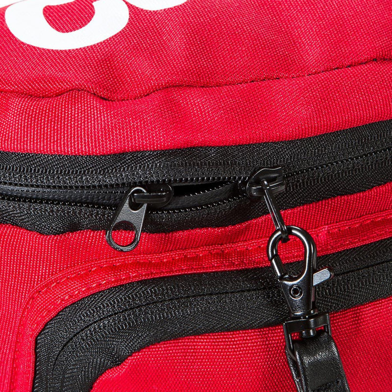 Environmental Fanny Pack (Red) Detail | Cookies Clothing