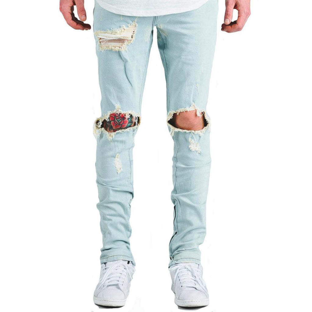 Pacific Jean (Ripped Light Blue)