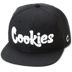 Original Logo Snapback (Black/White)