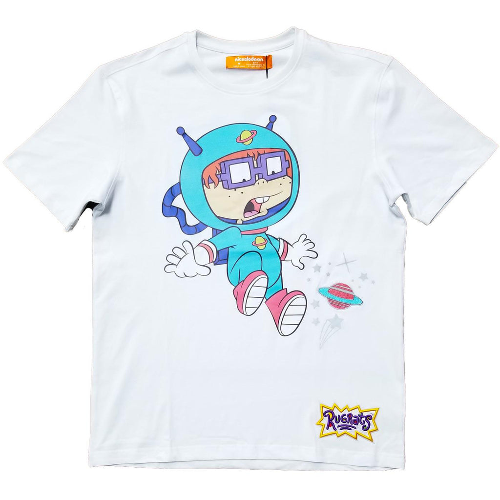 Chuckie Space Drop Tee (White) | Freeze Max