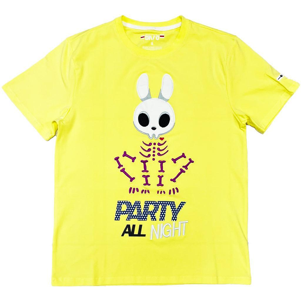 Party All Night Tee (Lemonade) | BKYS Clothing