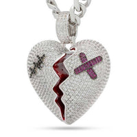 Broken Heart Necklace | King Ice