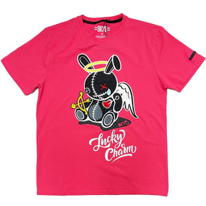 Lucky Angel Tee (Coral) | BKYS Black Keys