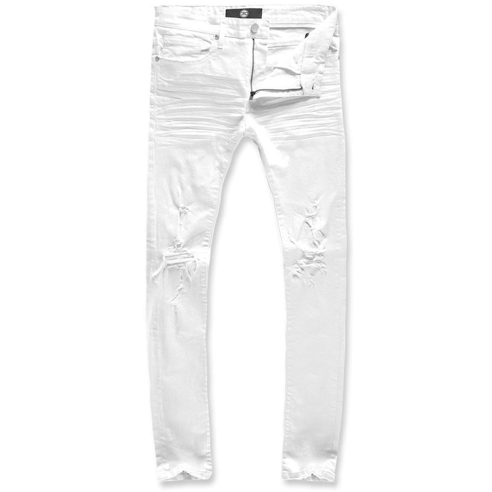Ross Irvington Denim White | Jordan Craig