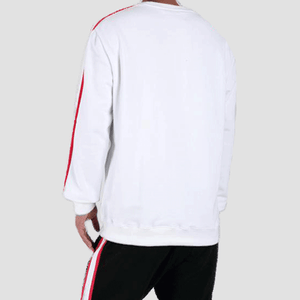 Black Pyramid Blast Off Sweatshirt White Rear View