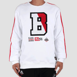 Black Pyramid Blast Off Sweatshirt White