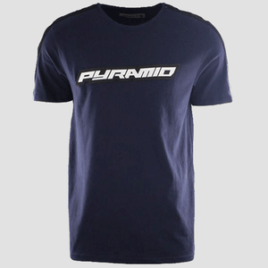 Black Pyramid Ald Stripe T Shirt (Navy)