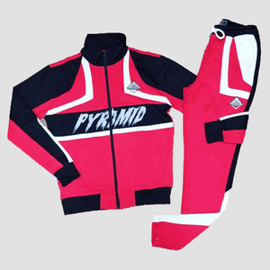 Black Pyramid Cut and Sew Track Set Suit