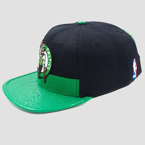 Pro Standard Boston Celtics Logo Hat Side View