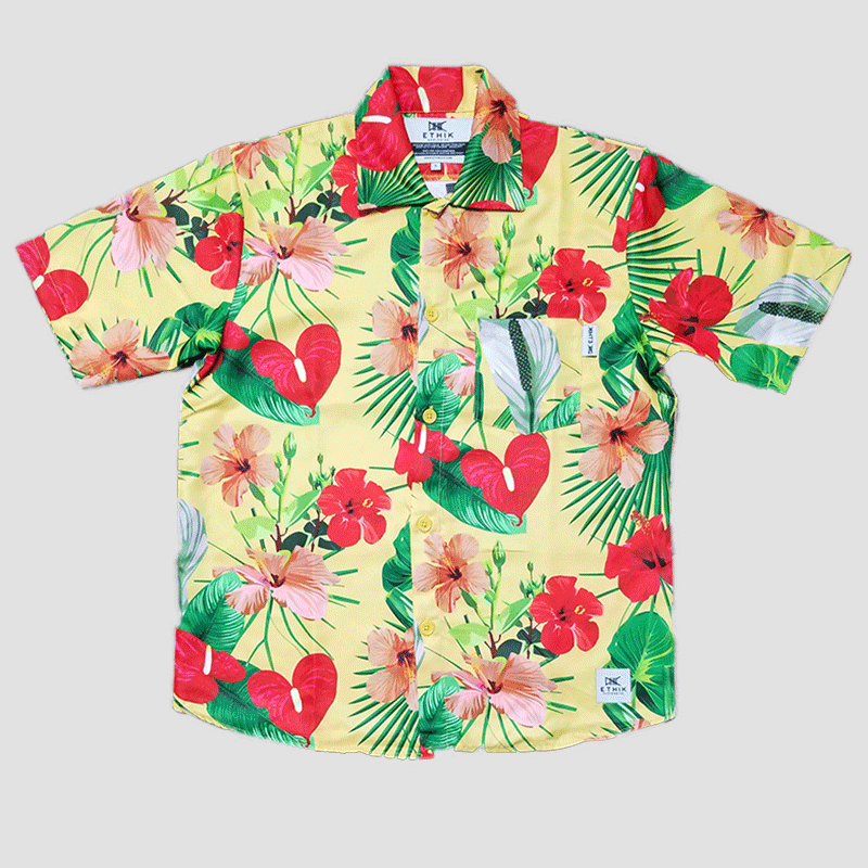 Ethik Clothing Hawaiian Woven Shirt