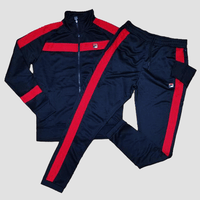 FILA Renzo Track Set (Black Red)