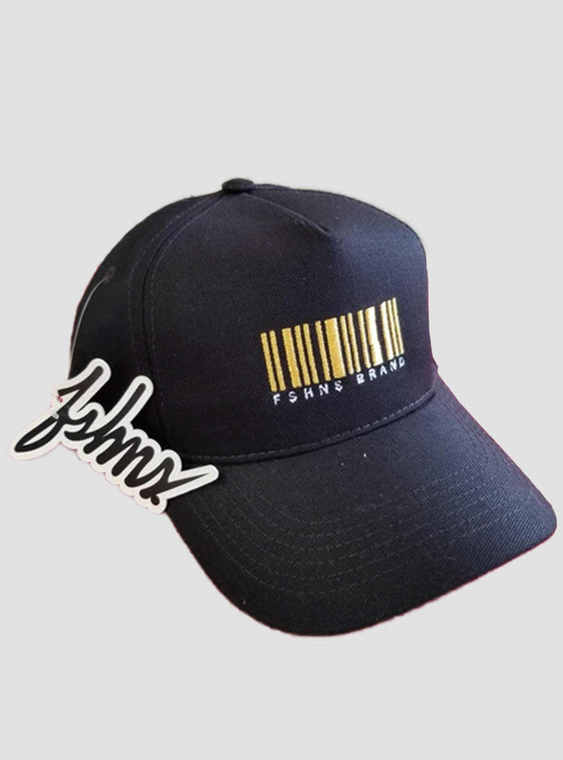 FSHNS Barcode Logo Hat (Black Gold)