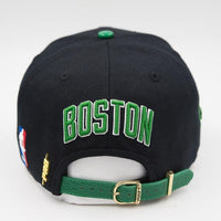 Pro Standard Boston Celtics Logo Hat Rear View