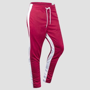 Skinny Track Pants (Red White) Southpole Clothing